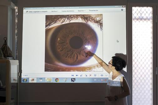 cursos iridología madrid formación